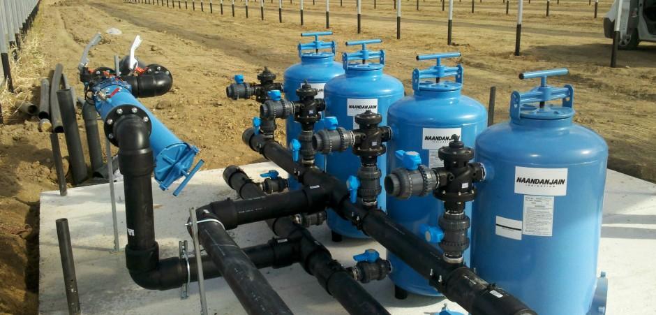 Irrigation, stockage d'eau et d'éffluents